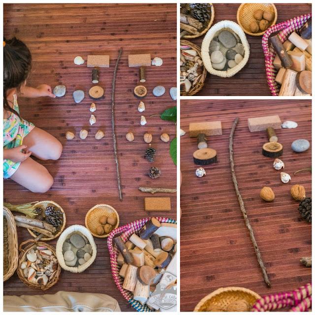 Jugar con elementos de la naturaleza | De mi casa al mundo
