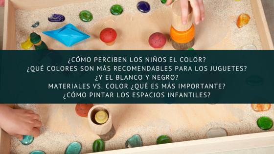 ¿Cómo perciben los niños-as el color-