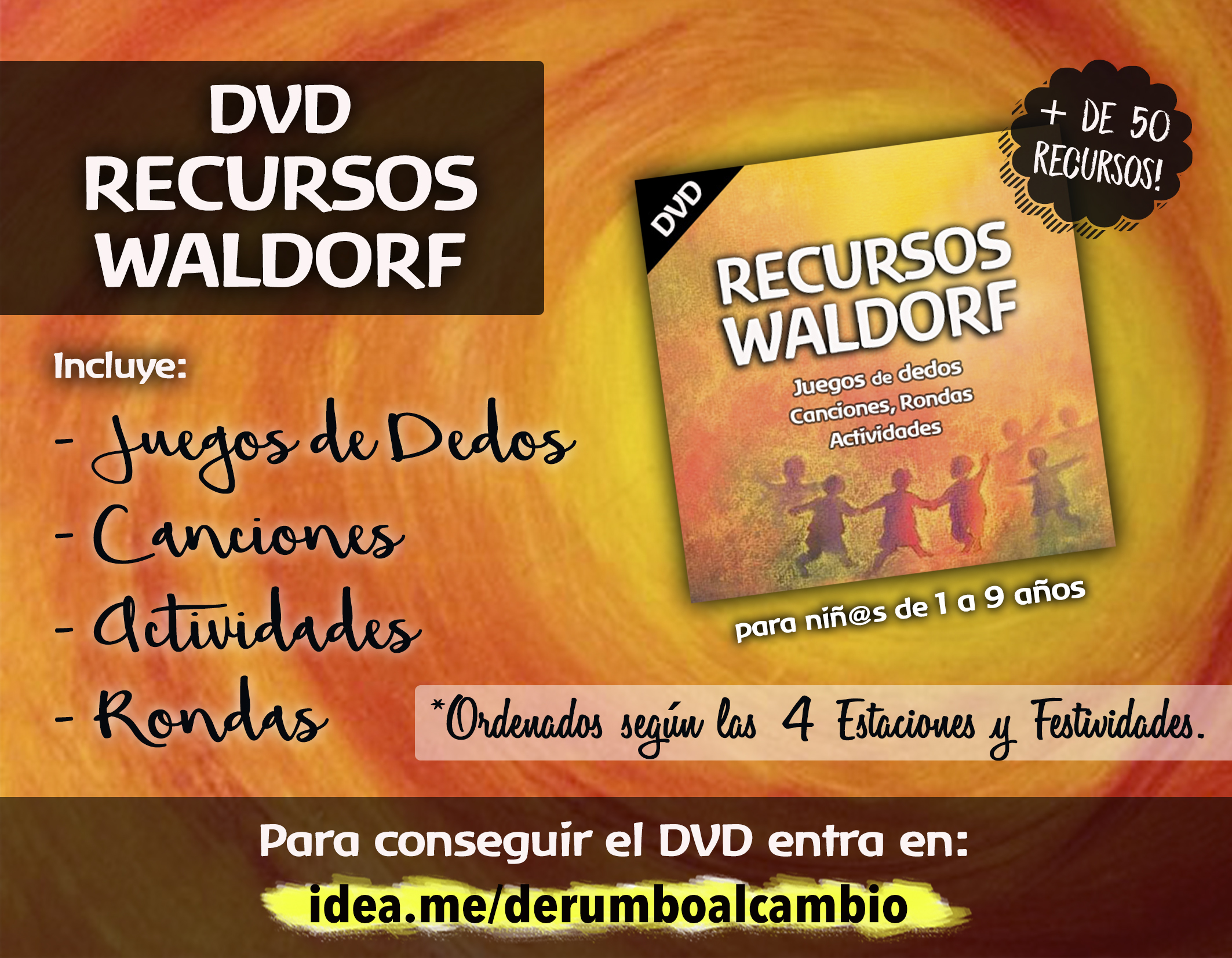 DVD RECURSOS WALDORF CROWDFUNDING rumbo al cambio