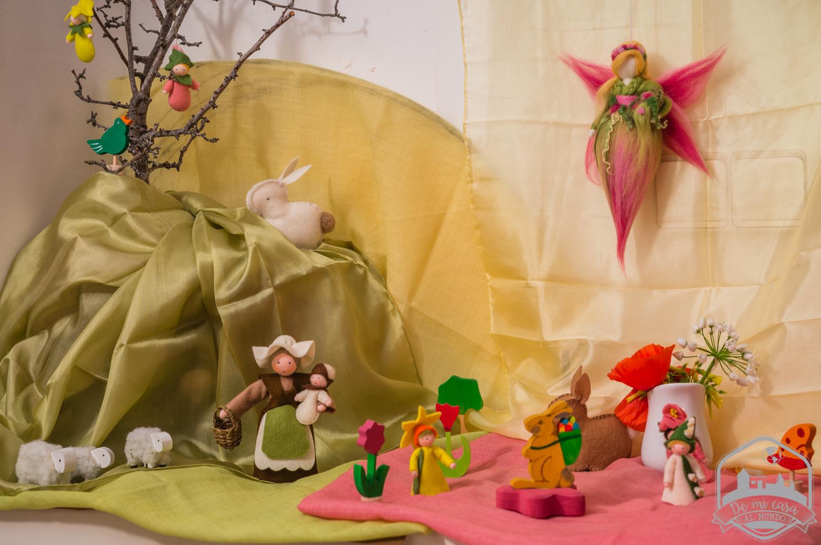 Ideas para celebrar la primavera con niños | De mi casa al mundo