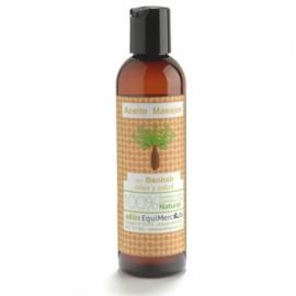 aceite para masajes de baobab