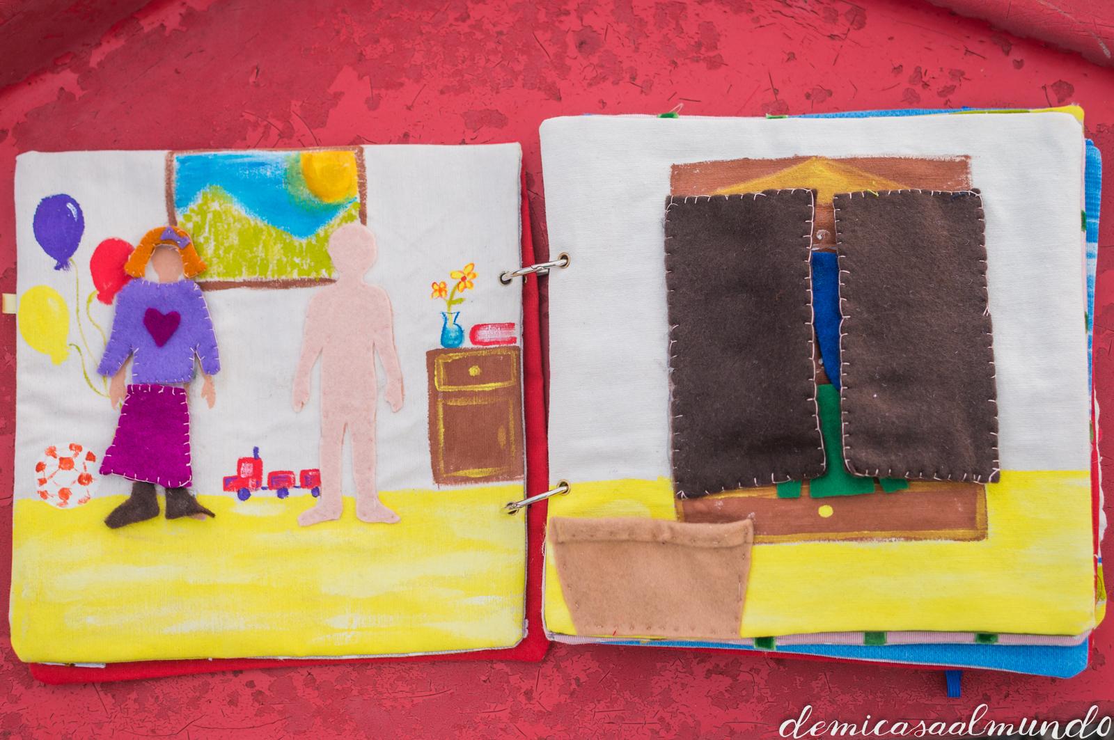 Libros Sensoriales De Inspiracion Montessori De Mi Casa Al Mundo