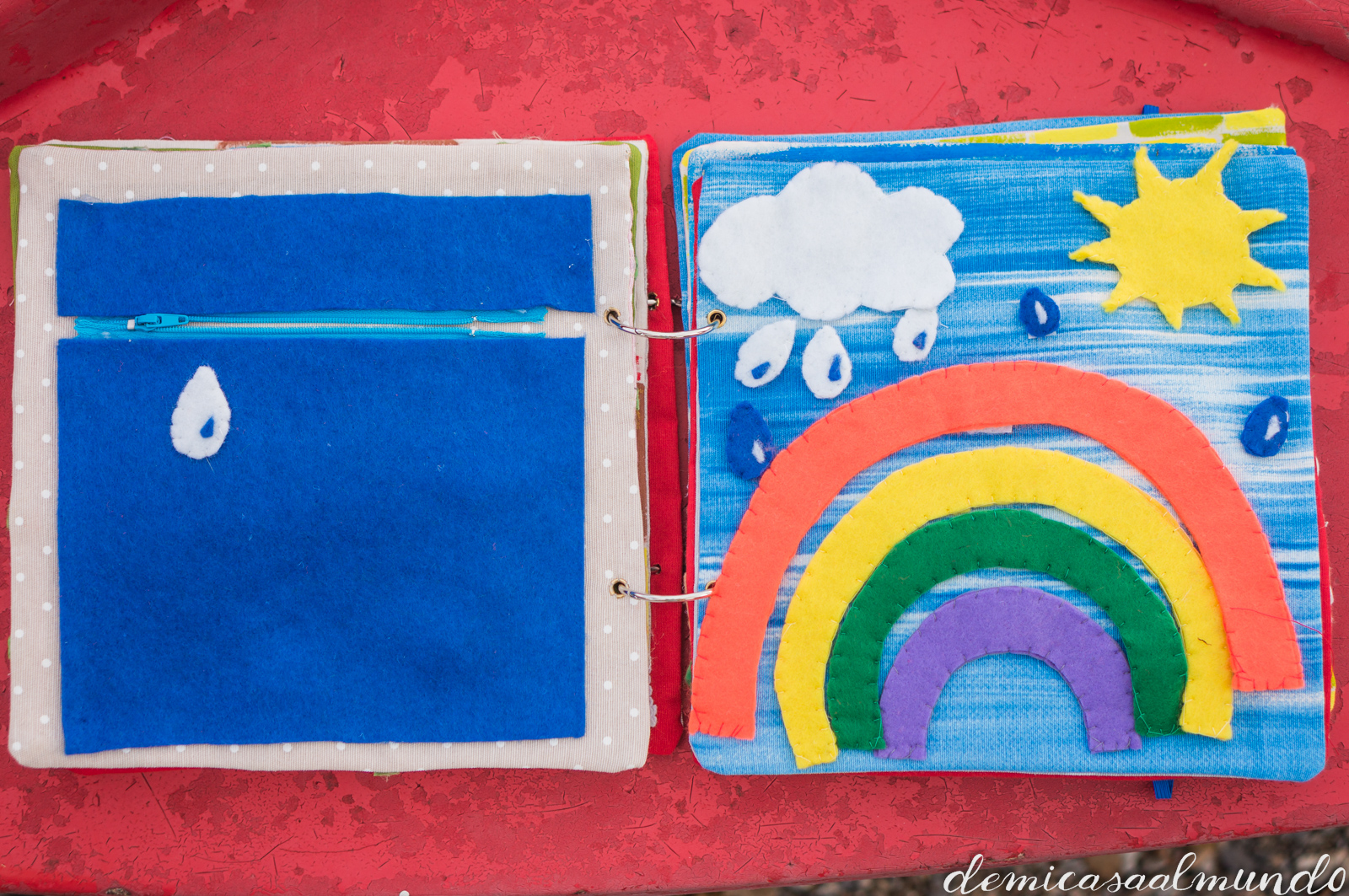 Libros sensoriales de inspiración Montessori | De mi casa al mundo
