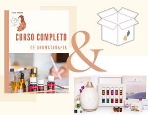 [Pack] Curso Completo Aromaterapia + Kit de inicio
