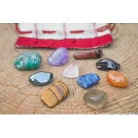 Bolsita de tesoros: 10 piedras semipreciosas