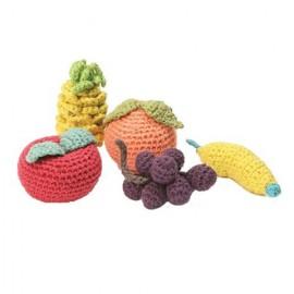 frutas ganchillo