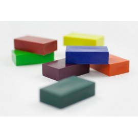 Caja 8 bloques de cera para colorear