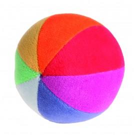 pelota arcoiris algodón orgánico de grimms