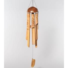móvil bambú y coco
