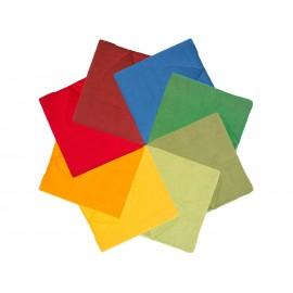 set pañuelos arcoíris