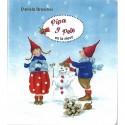 Pipa y Pele en la nieve