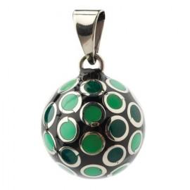 bola maternidad tonos verdes