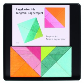 Juego magnético 2 Tangram + plantillas de Grimm's