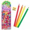 Set de 6 lápices FLUORESCENTES Jumbo de eeBoo