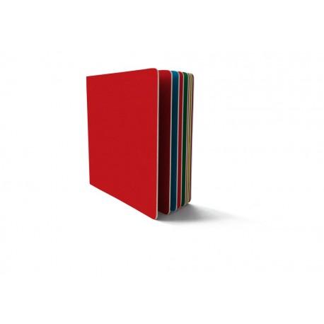El libro rojo y azul
