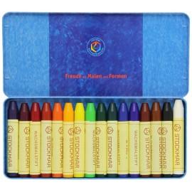 Caja 16 ceras para colorear