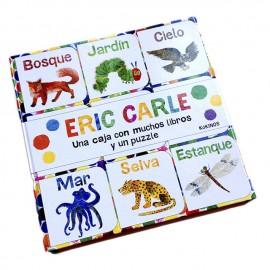 Caja de libros de Eric Carle