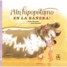 Hipopótamo en la bañera